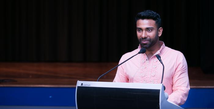 Shamaul Aalam, MC
