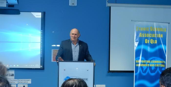 Stefan Romaniw, Executive Director, Community Languages Australia