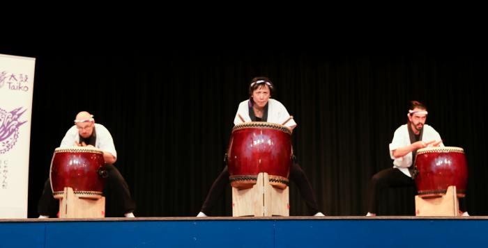 UQ Taiko Japanese Drumming Team
