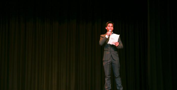 Representative of the Rohingya community