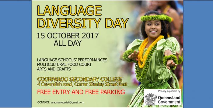 Language Diversity Day 15.10.2017